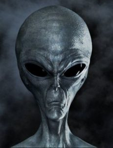 Aliens are above the all-seeing eye