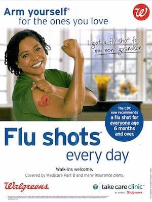 Flu Shot Ad