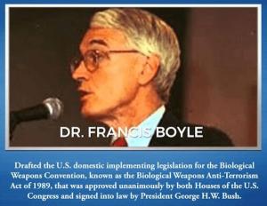 Dr. Francis Boyle