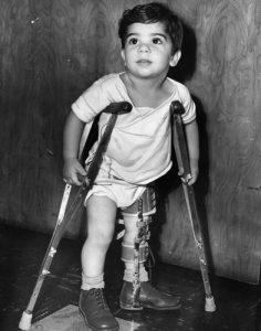 polio victim